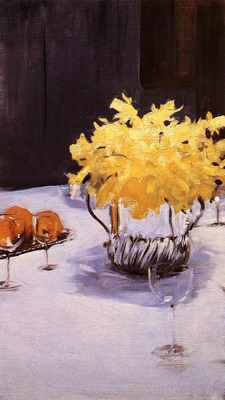 Sargent John Singer Still Life with Daffodils