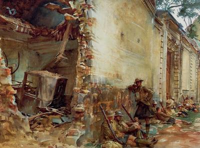 Sargent John Singer Street in Arras