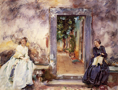 Sargent John Singer The Garden Wall