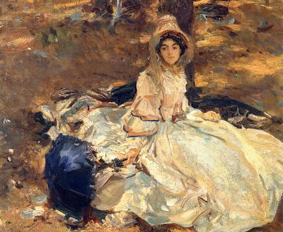 Sargent John Singer The Pink Dress