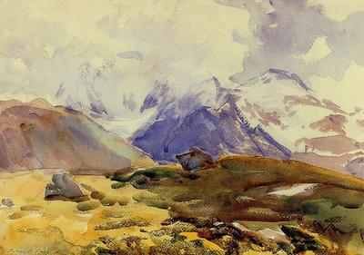 Sargent John Singer The Simplon