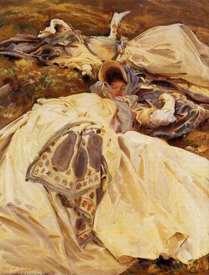 Sargent John Singer Two Girls in White Dresses