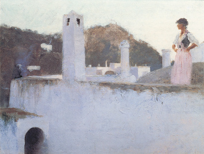 Sargent View of Capri