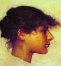 Head of Ana Capril Girl