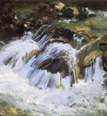 Sargent John Singer A Mountain Stream Tyrol