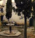 Sargent John Singer Alhambra Patio de la Reja