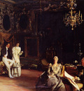 Sargent John Singer An Interior in Venice