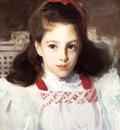 Sargent John Singer Portrait of Miss Dorothy Vickers