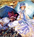 Sargent John Singer Simplon Pass The Green Parasol