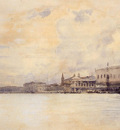 Sargent John Singer The Entrance to the Grand Canal Venice