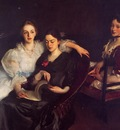 Sargent John Singer The Misses Vickers