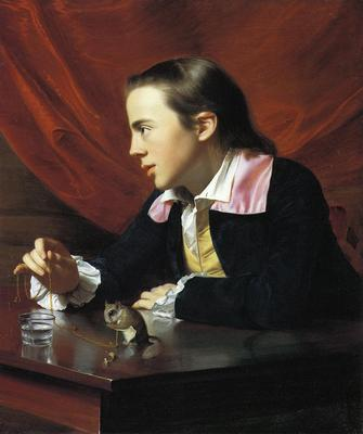 Copley John Singleton Boy with a Squirrel aka Henry Pelham