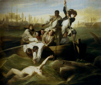 Copley John Singleton Brrok Watson And The Shark