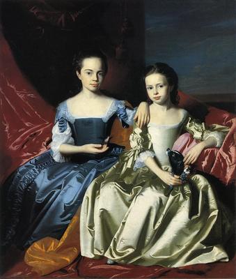 Copley John Singleton Mary and Elizabeth Royall