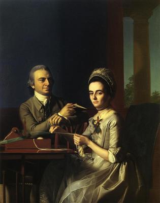 Copley John Singleton Mr  and Mrs Thomas Mifflin Sarah Morris
