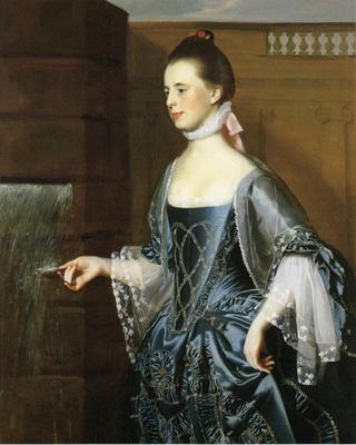 Copley John Singleton Mrs  Daniel Sargent Mary Turner Sargent