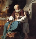 Copley John Singleton Samuel Reading to Eli the Judgments of God Upon Eli s House