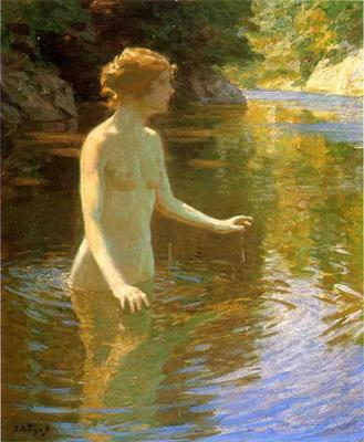 Twachtman John Enchanted Pool