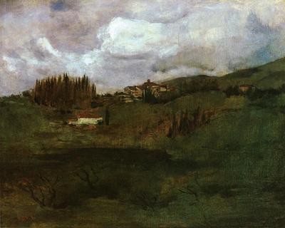 Twachtman John Tuscan Landscape