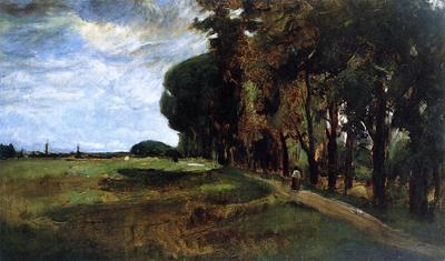 Twachtman John View near Polling