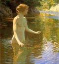 Twachtman John Enchanted Pool