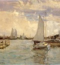 Twachtman John Gloucester Harbor