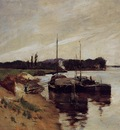 Twachtman John Mouth of the Seine