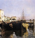 Twachtman John View of Venice
