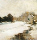 Twachtman John Winter in Cincinnati