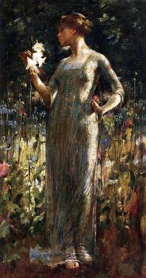 Alexander John White A King s Daughter aka Girl with Lilies