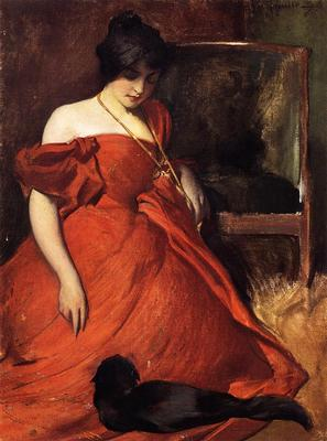 Alexander John White Black and Red