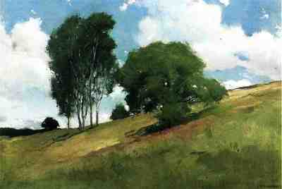 Alexander John White Landscape Painted at Cornish New Hampshire