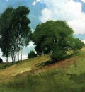 Alexander John White Landscape Painted at Cornish New Hampshire