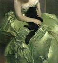 Alexander John White The Green Dress