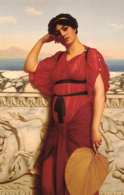 a classical lady