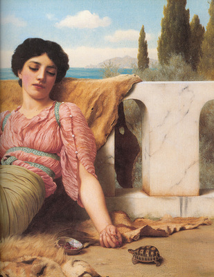 Godward A Quiet Pet