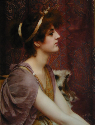 Godward Classical Beauty cropped