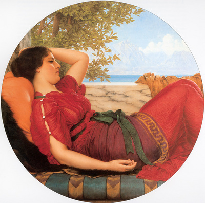Godward In Realms of Fancy