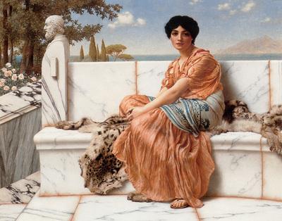 Godward In the Days of Sappho