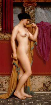 godward in the tepidarium
