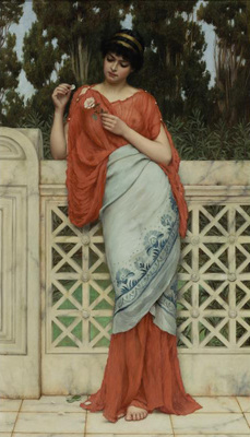 Godward John William He Loves Me He Loves Me Not