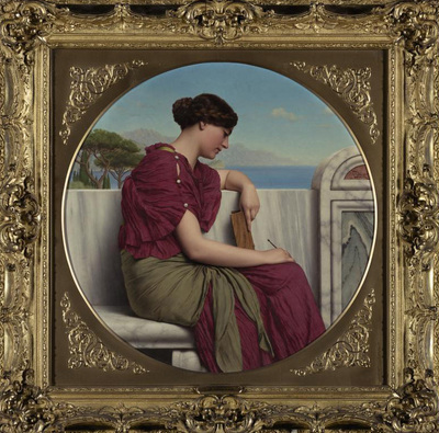 Godward John William The Answer