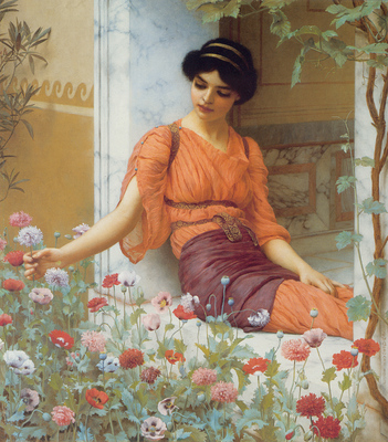 godward summer flowers