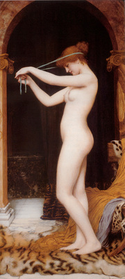 Godward Venus Binding Her Hair