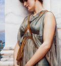 Godward Grecian Reverie