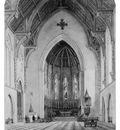 Hill John William Chancel Of Trinity Chapel New York