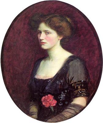 Portrait of Mrs Charles Schreiber CGFA