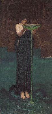 Waterhouse Circe Invidiosa