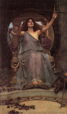 Waterhuse Circe offering the Cup to Ulysses