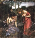 Nymphs finding the head of orpheus study JW